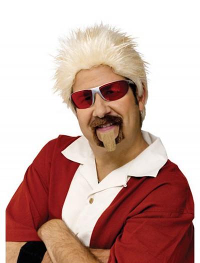 Celebrity Chef Wig and Goatee Set, halloween costume (Celebrity Chef Wig and Goatee Set)