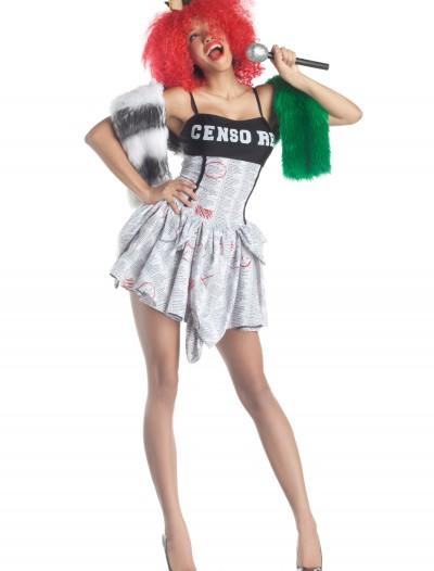 Censored Popstar Costume, halloween costume (Censored Popstar Costume)