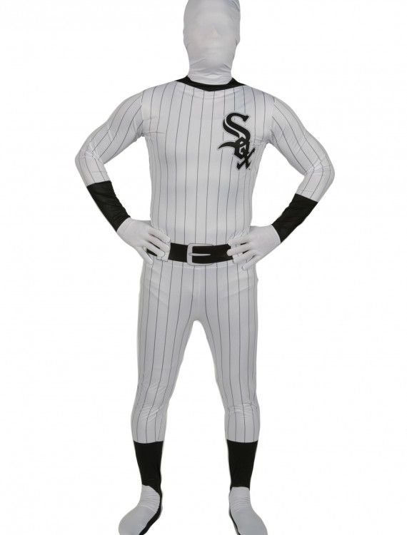 Chicago White Sox Skin Suit, halloween costume (Chicago White Sox Skin Suit)
