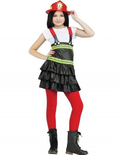 Chief Cutie Firefighter Child Costume, halloween costume (Chief Cutie Firefighter Child Costume)