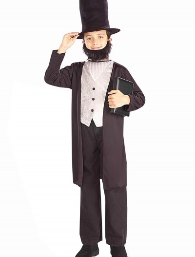 Child Abraham Lincoln Costume, halloween costume (Child Abraham Lincoln Costume)