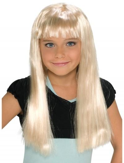 Child Alice Blonde Wig, halloween costume (Child Alice Blonde Wig)
