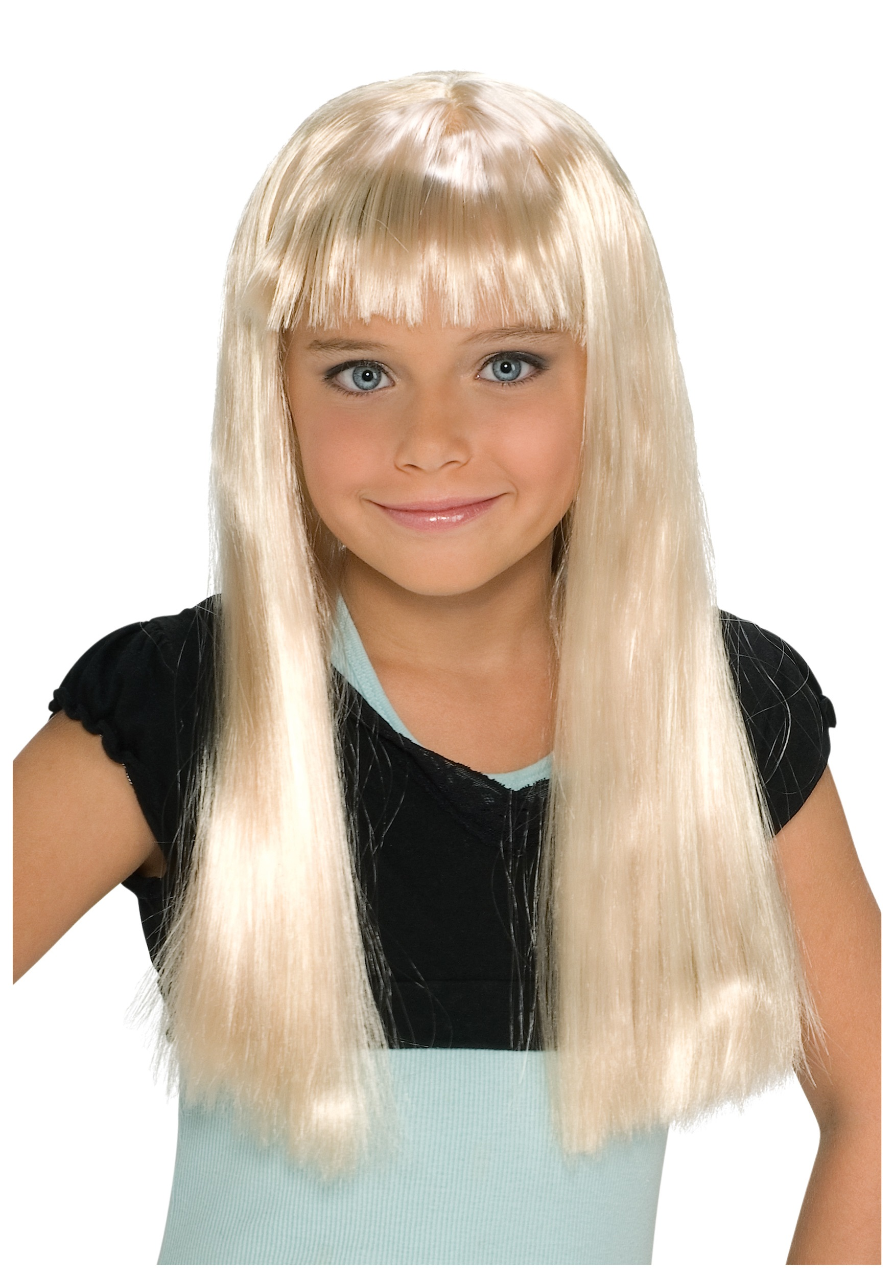 child alice blonde wig