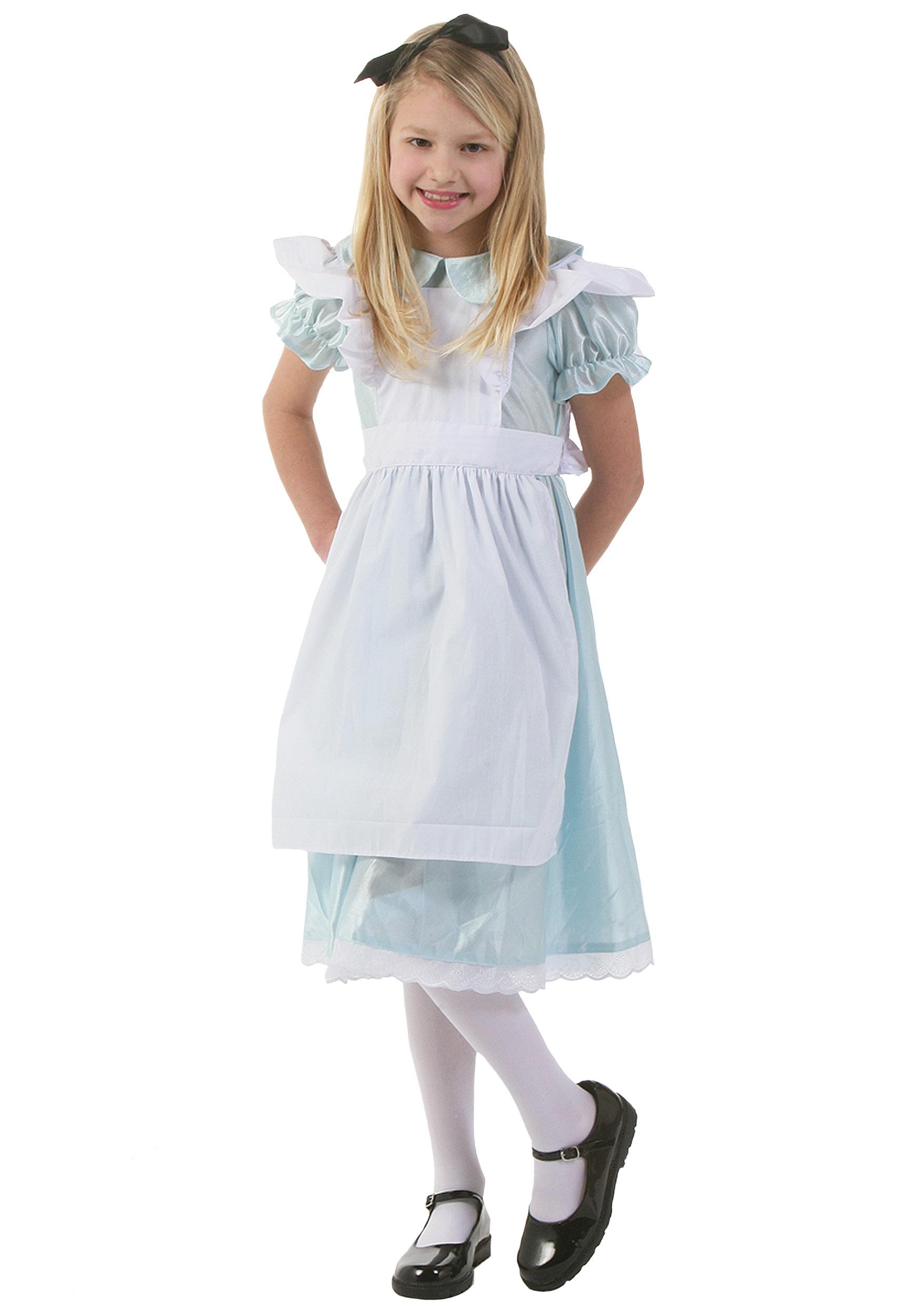 Child Alice Costume  sc 1 st  Halloween Costumes & Child Alice Costume - Halloween Costumes
