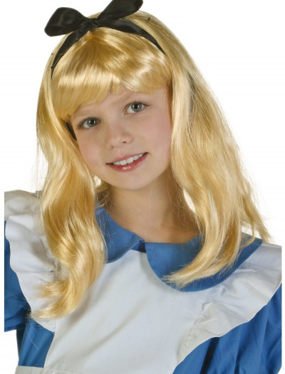 Child Alice Wig, halloween costume (Child Alice Wig)