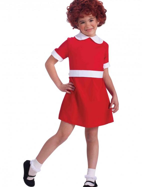 Child Annie Costume, halloween costume (Child Annie Costume)