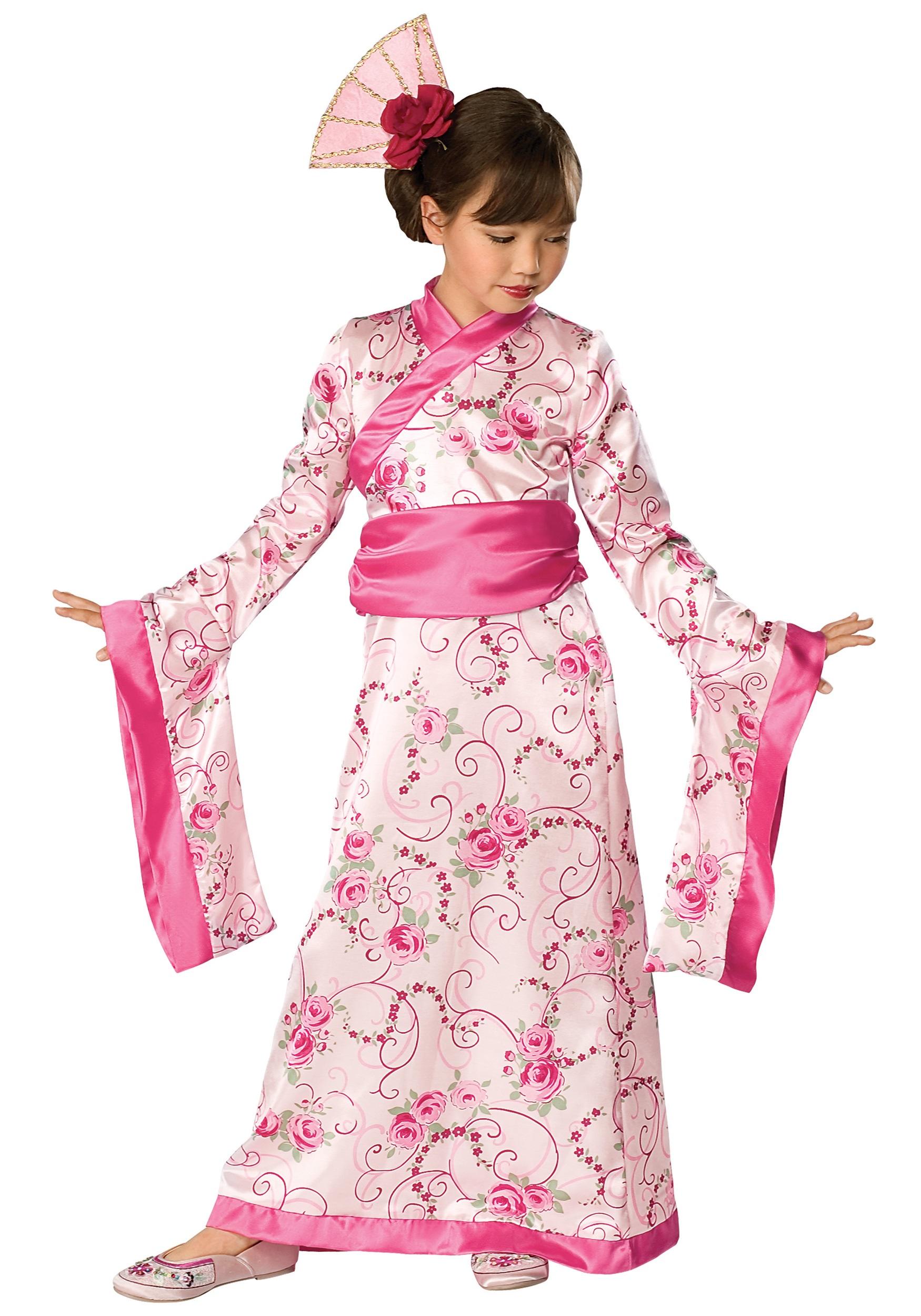 Костюм кимоно для девочки своими руками
