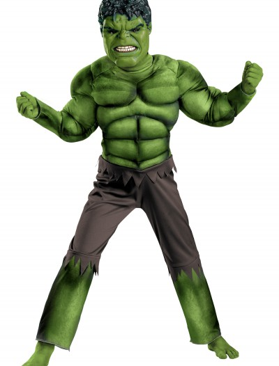 Child Avengers Hulk Muscle Costume, halloween costume (Child Avengers Hulk Muscle Costume)