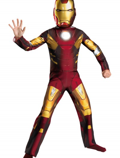Child Avengers Iron Man Mark VII Costume, halloween costume (Child Avengers Iron Man Mark VII Costume)