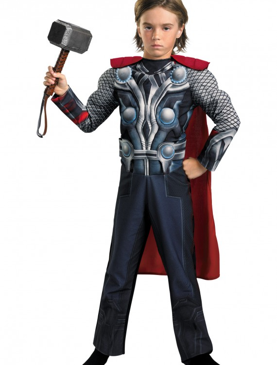 Child Avengers Thor Light-Up Costume, halloween costume (Child Avengers Thor Light-Up Costume)