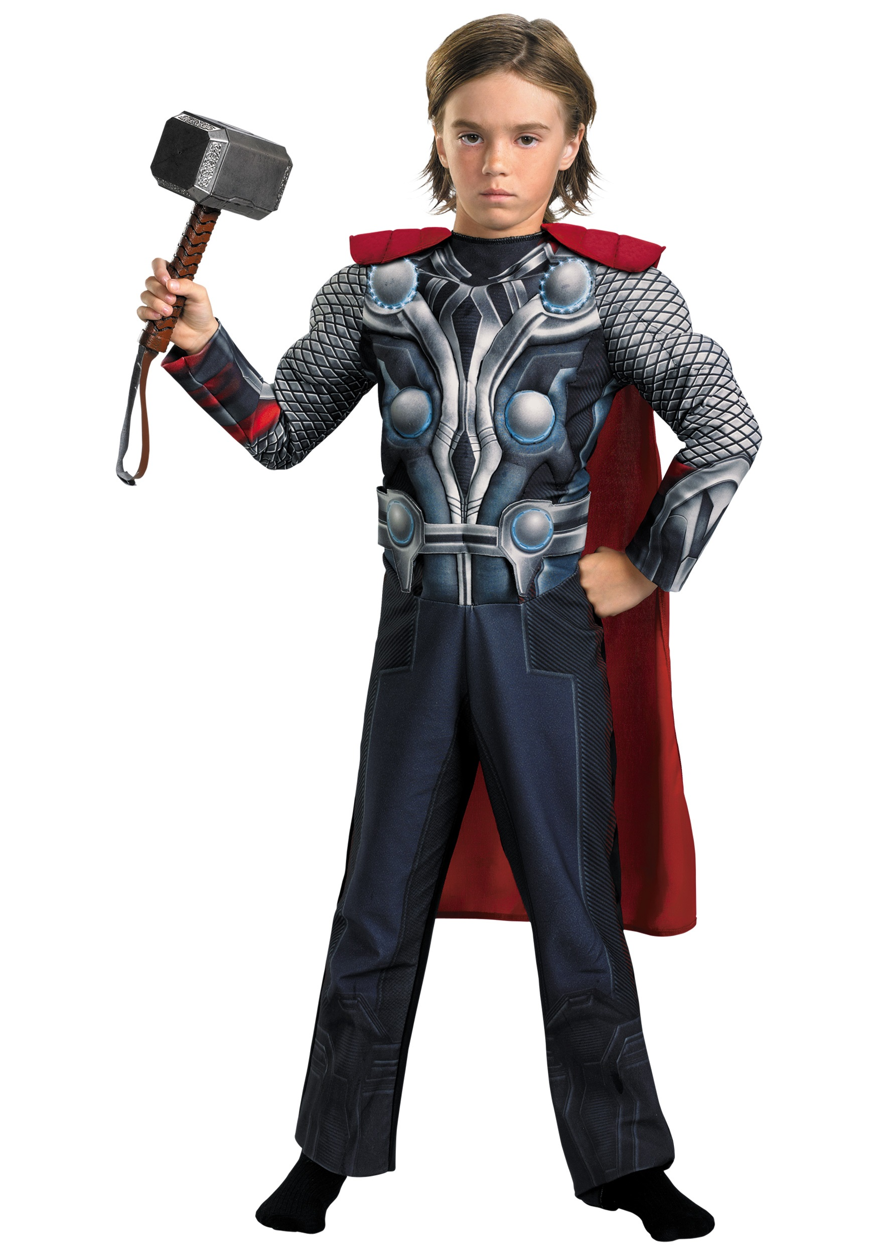 Child Avengers Thor Light-Up Costume  sc 1 st  Halloween Costumes & Child Avengers Thor Light-Up Costume - Halloween Costumes