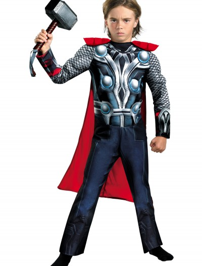 Child Avengers Thor Muscle Costume, halloween costume (Child Avengers Thor Muscle Costume)