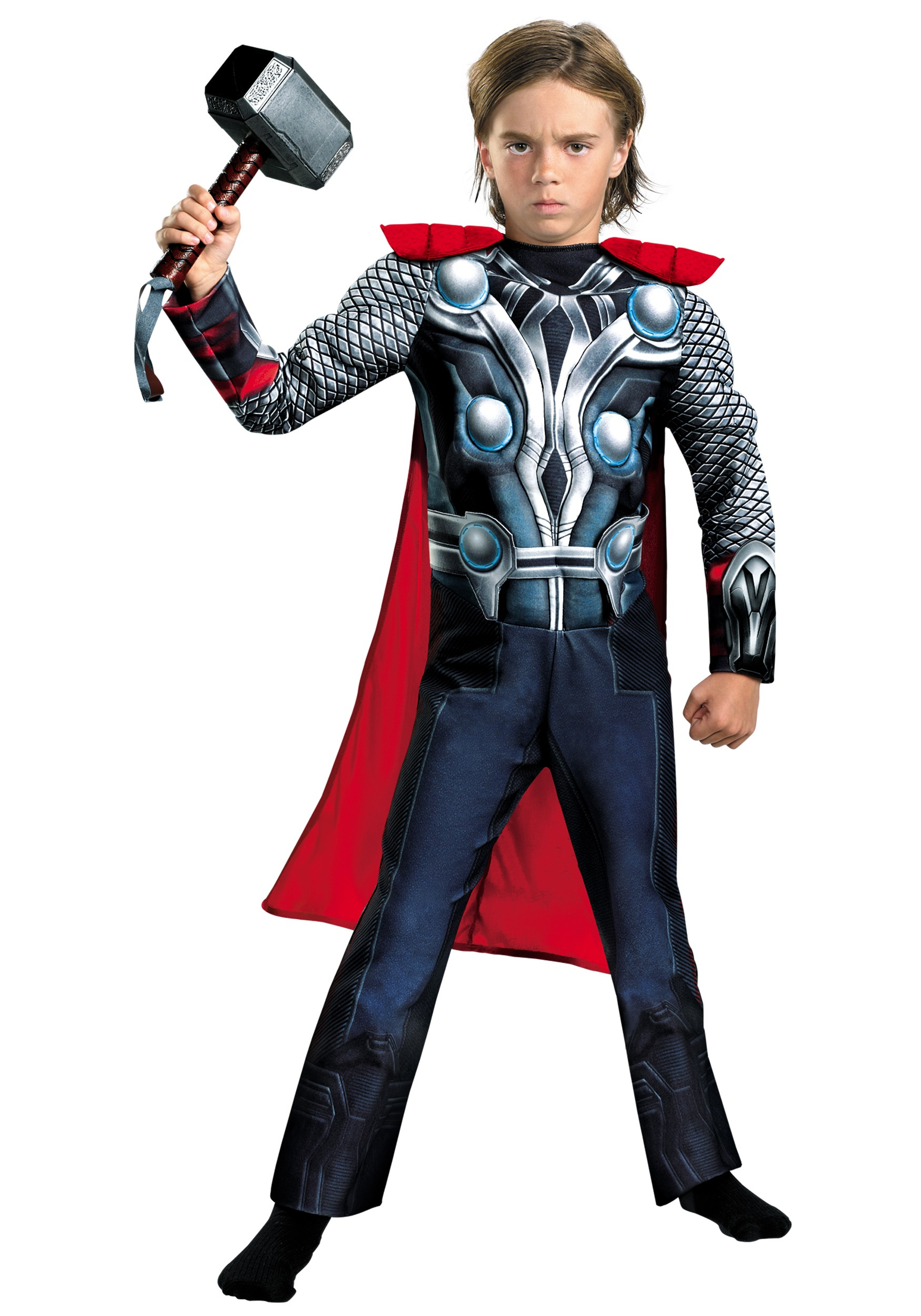 Child Avengers Thor Muscle Costume  sc 1 st  Halloween Costumes & Child Avengers Thor Muscle Costume - Halloween Costumes