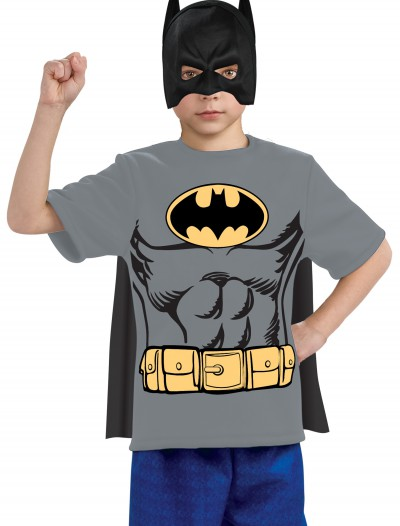 Child Batman Costume T-Shirt, halloween costume (Child Batman Costume T-Shirt)