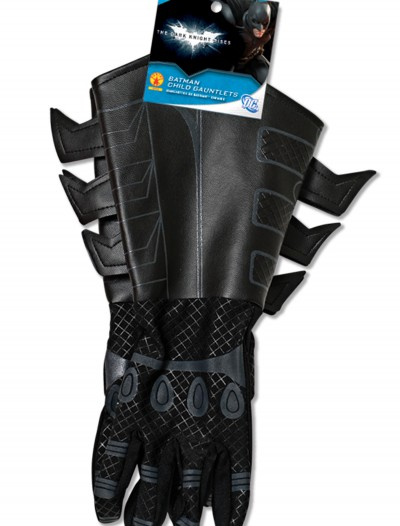 Child Batman Gauntlets, halloween costume (Child Batman Gauntlets)