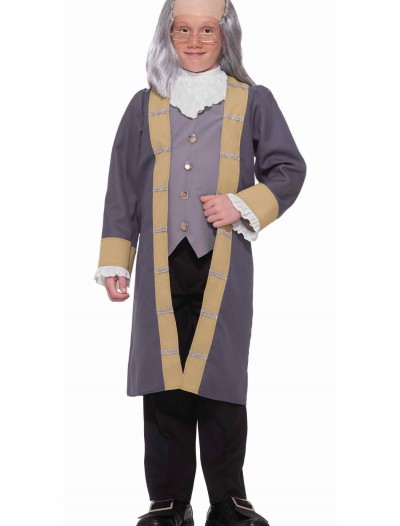 Child Benjamin Franklin Costume, halloween costume (Child Benjamin Franklin Costume)