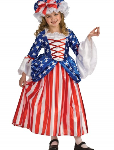 Child Betsy Ross Costume, halloween costume (Child Betsy Ross Costume)