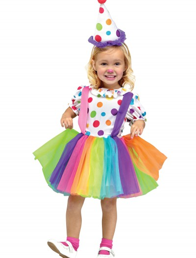 Child Big Top Fun Clown Costume, halloween costume (Child Big Top Fun Clown Costume)