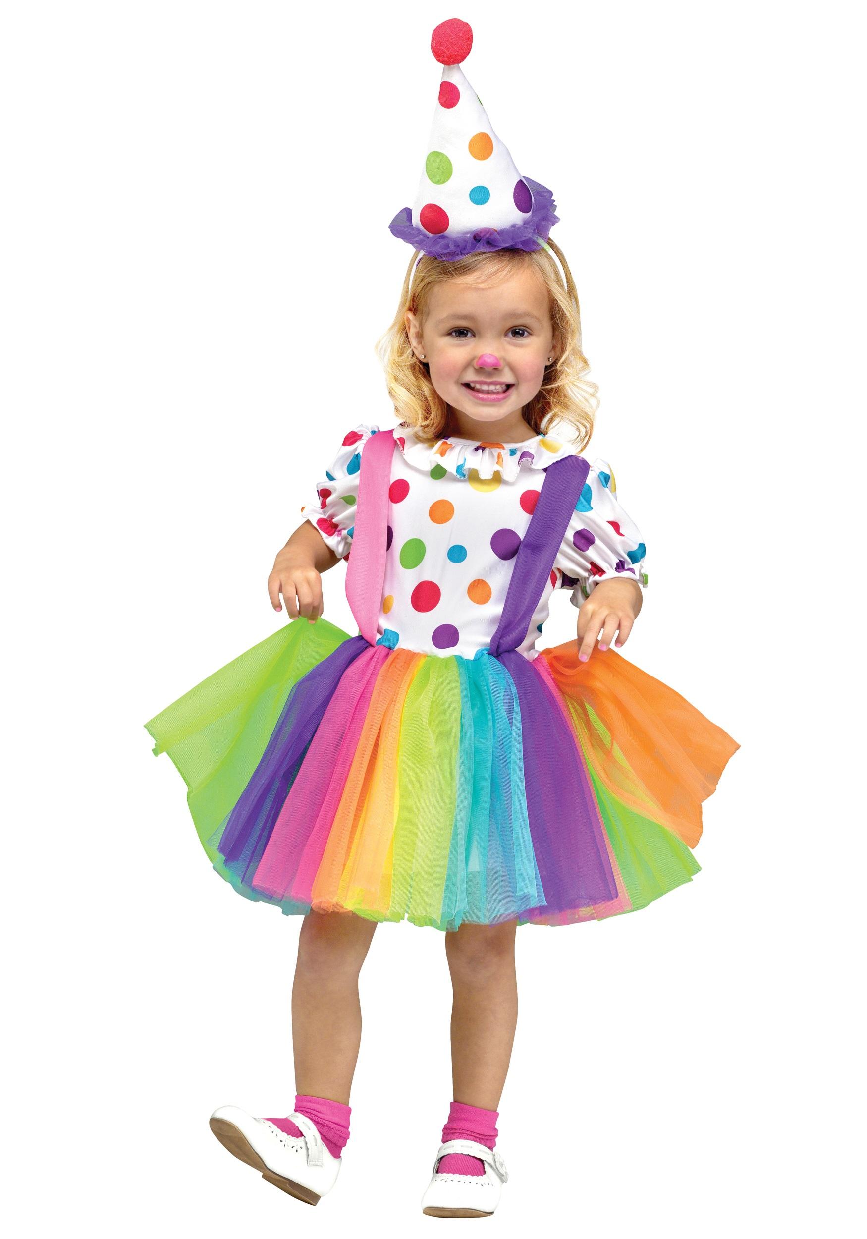 child big top fun clown costume - halloween costumes