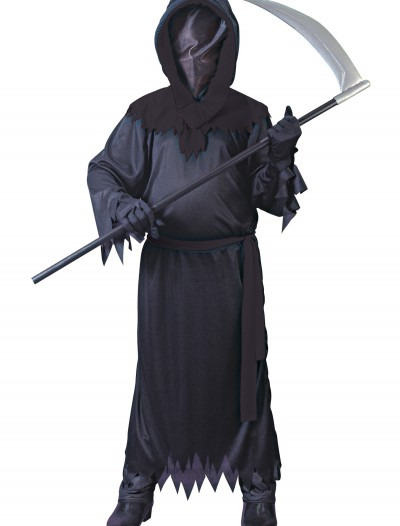Child Black Faceless Ghost Costume, halloween costume (Child Black Faceless Ghost Costume)