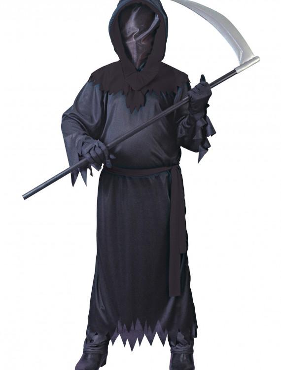Child Black Faceless Ghost Costume, halloween costume (Child Black Faceless Ghost Costume)