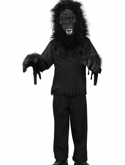 Child Black Gorilla Costume, halloween costume (Child Black Gorilla Costume)