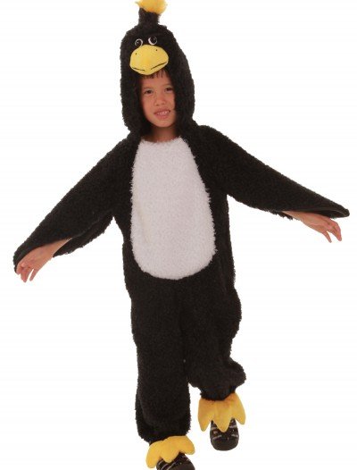 Child Black Grumpy Bird Costume, halloween costume (Child Black Grumpy Bird Costume)