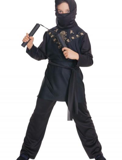 Child Black Ninja Costume, halloween costume (Child Black Ninja Costume)