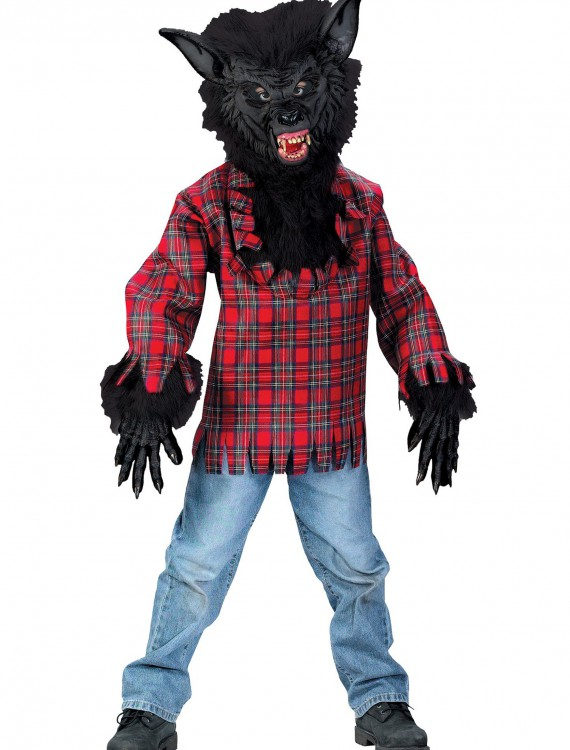 Child Black Werewolf Costume, halloween costume (Child Black Werewolf Costume)