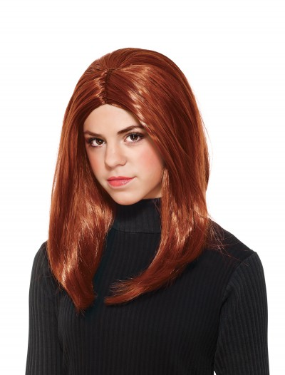 Child Black Widow Wig, halloween costume (Child Black Widow Wig)