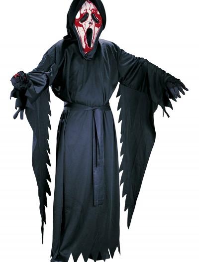Child Bleeding Ghost Face Costume, halloween costume (Child Bleeding Ghost Face Costume)