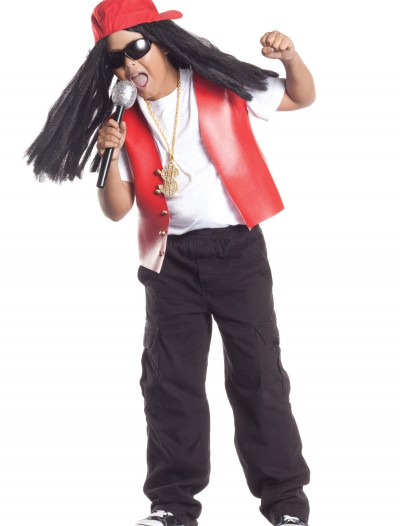 Child Bling Bling Rapper, halloween costume (Child Bling Bling Rapper)