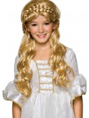 Child Blonde Enchanted Princess Wig, halloween costume (Child Blonde Enchanted Princess Wig)