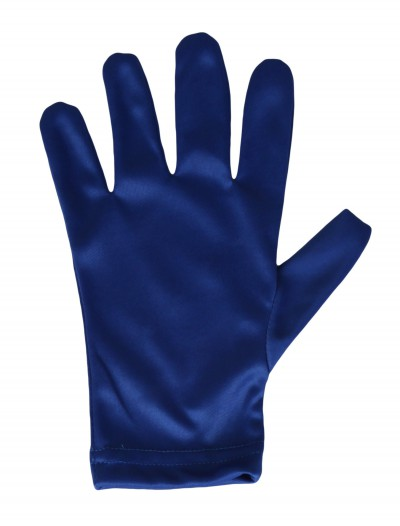 Child Blue Gloves, halloween costume (Child Blue Gloves)