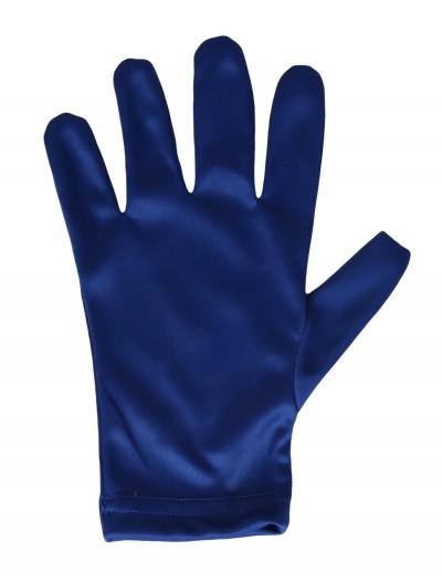 Child Blue Gloves, halloween costume (Child Blue Gloves)