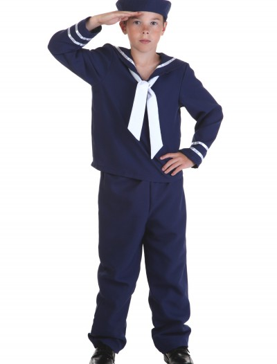 Child Blue Sailor Costume, halloween costume (Child Blue Sailor Costume)