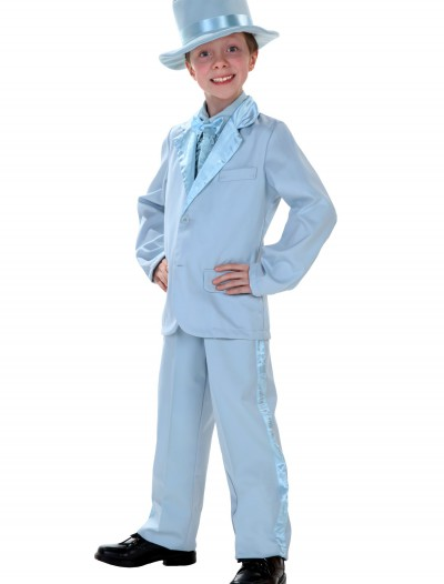 Child Blue Tuxedo, halloween costume (Child Blue Tuxedo)