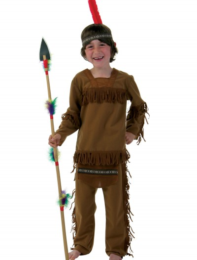 Child Boy Indian Costume, halloween costume (Child Boy Indian Costume)
