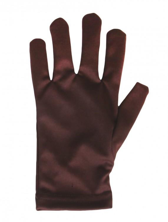 Child Brown Gloves, halloween costume (Child Brown Gloves)