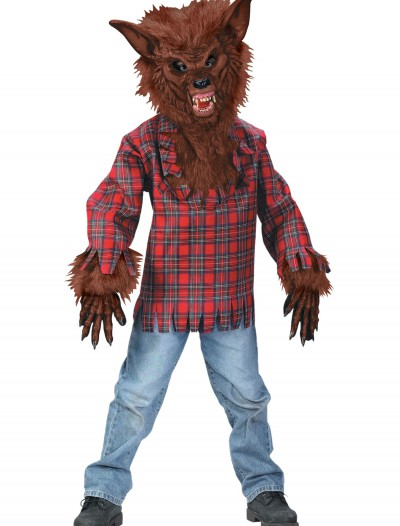 Child Brown Werewolf Costume, halloween costume (Child Brown Werewolf Costume)
