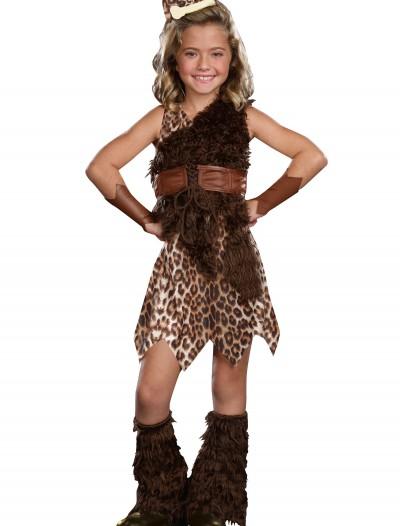 Child Cave Girl Cutie Costume, halloween costume (Child Cave Girl Cutie Costume)