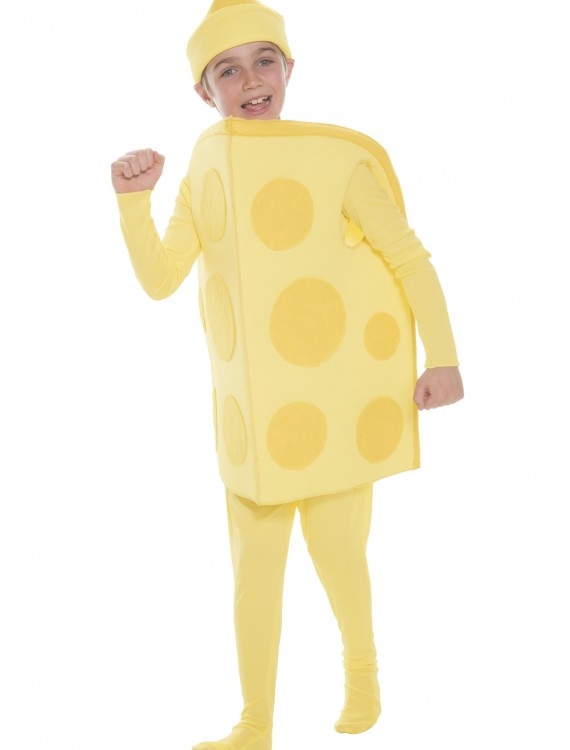 Child Cheese Costume, halloween costume (Child Cheese Costume)