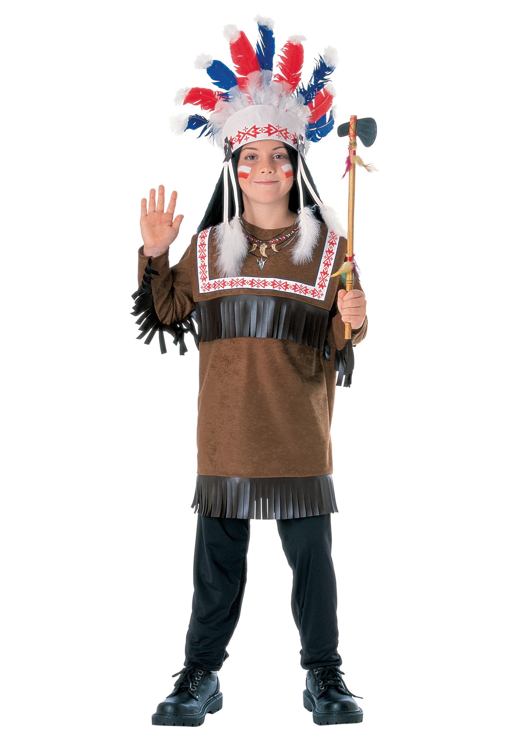 Индеец детский костюм своими руками