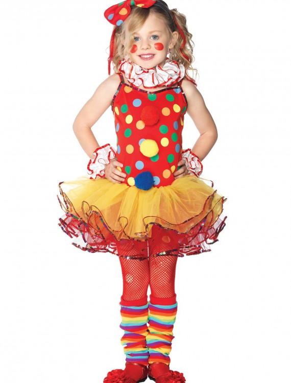 Child Circus Clown Cutie Costume, halloween costume (Child Circus Clown Cutie Costume)