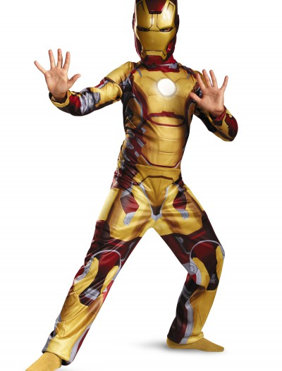 Child Classic Iron Man 42 Costume, halloween costume (Child Classic Iron Man 42 Costume)