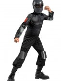 Child Classic Snake Eyes Costume, halloween costume (Child Classic Snake Eyes Costume)