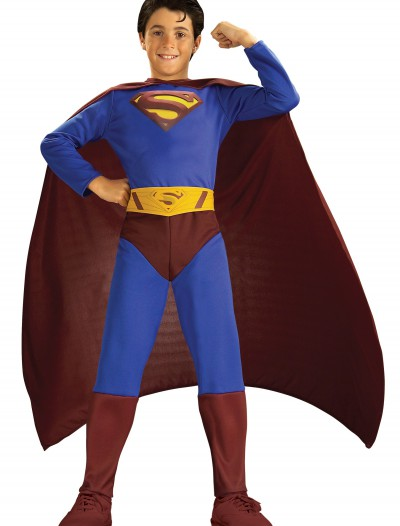 Child Classic Superman Costume, halloween costume (Child Classic Superman Costume)