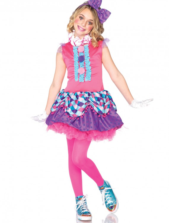 Child Clown Cutie Costume, halloween costume (Child Clown Cutie Costume)
