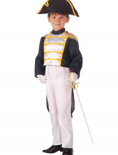Child Colonial General Costume, halloween costume (Child Colonial General Costume)