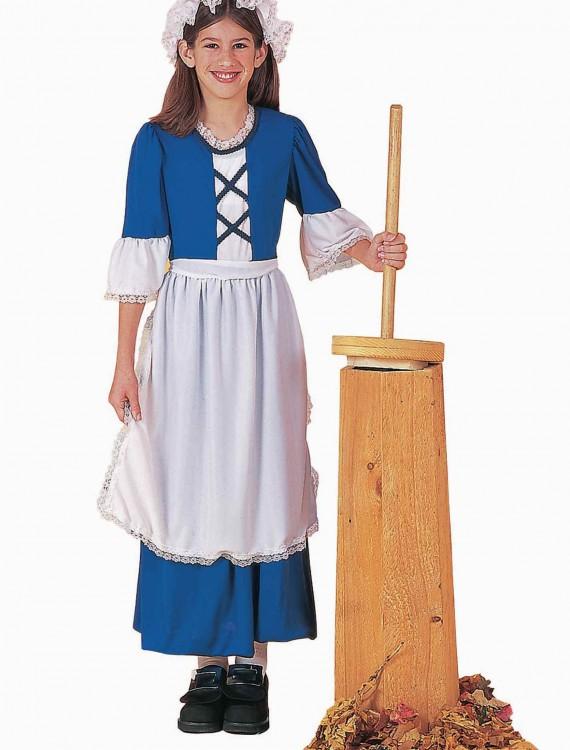 Child Colonial Girl Costume, halloween costume (Child Colonial Girl Costume)